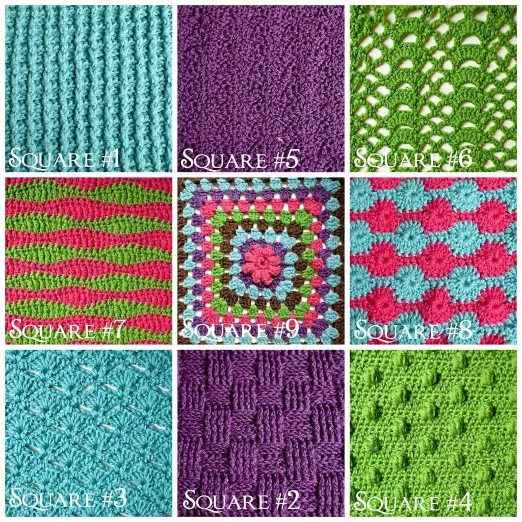 Catherine\'s Wheel Crochet Stitch - Marly Bird™