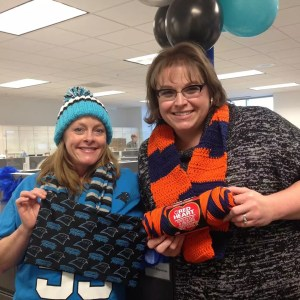 Marly Bird and Donna #SuperBowl50