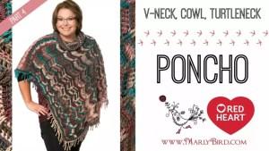 Marly Bird 2016 Crochet Along-Popular Poncho Part 4