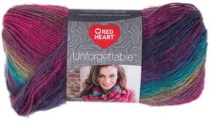 Red Heart Unforgettable Yarn