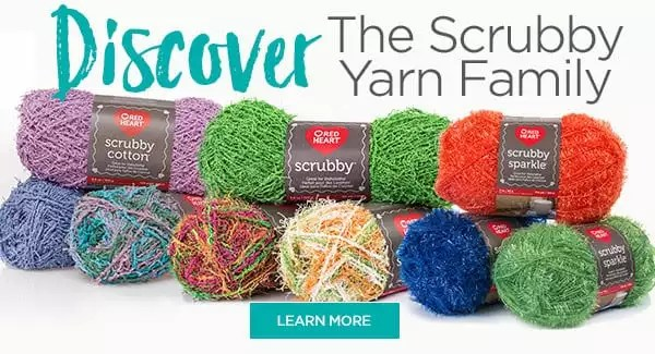 Discover the Scrubby Yarn Family from Red Heart