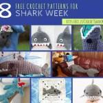 8 Free Shark Crochet Patterns for Shark Week