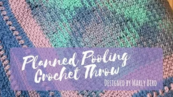 Planned Pooling Crochet Throw by Marly Bird