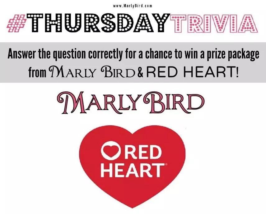 Thursday Trivia with Marly Bird