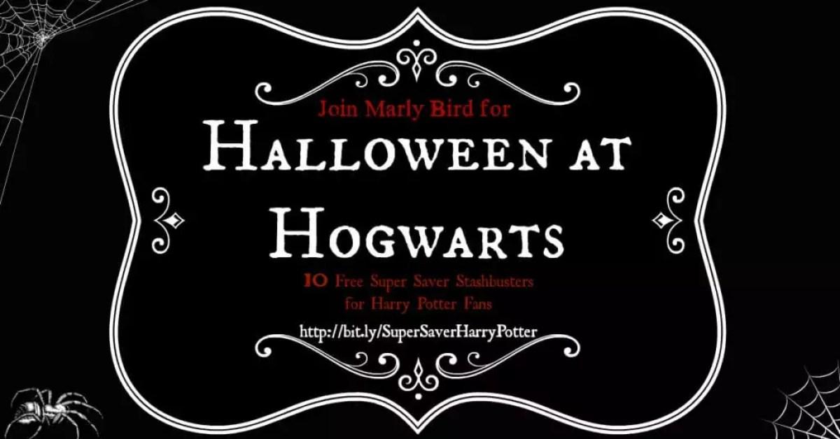 Halloween at Hogwarts-10 Super Saver Stash Busters for Harry Potter Fans