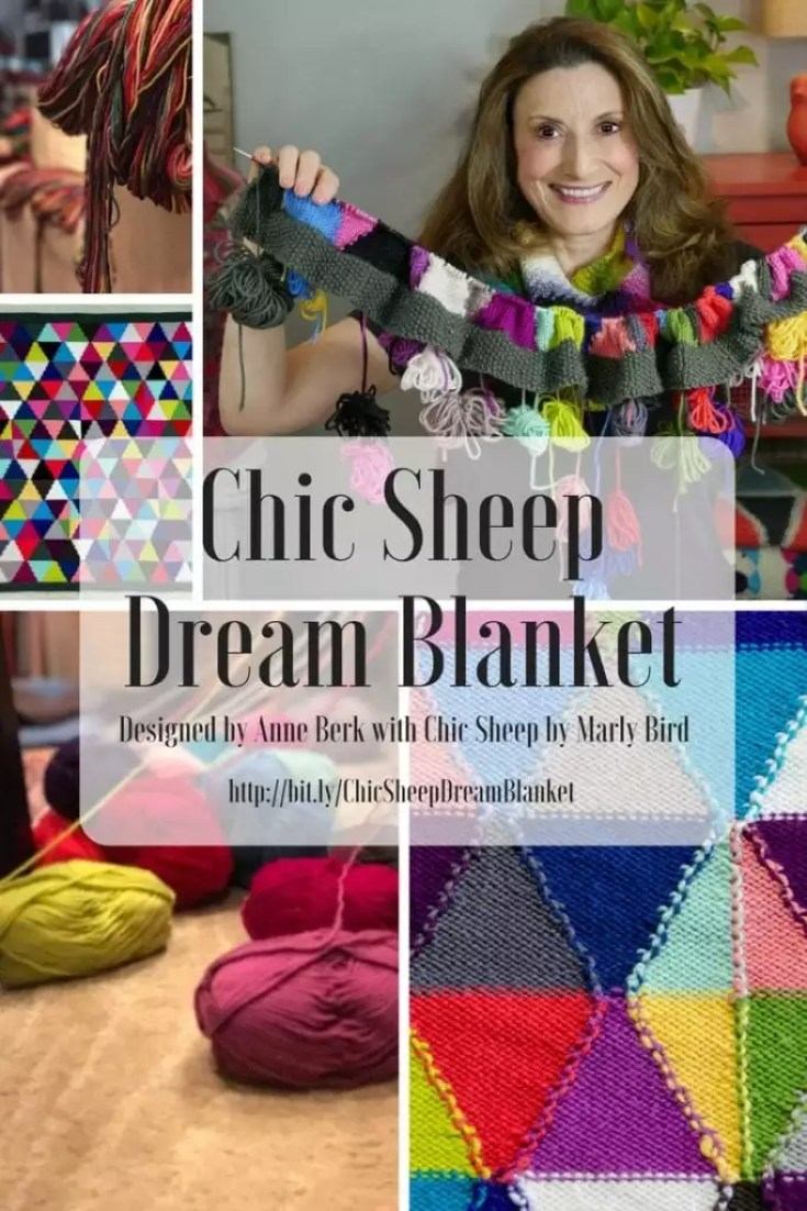 FREE Knit Pattern: Chic Sheep Dream Blanket