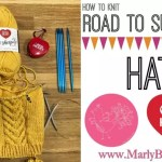 Knitting Video Tutorial-Knitting the Road to Success Chic Hat