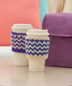 Crochet Cup Cozy FREE Pattern