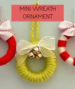 Mini Wreath Ornament