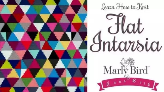 Learn How to Knit Flat Intarsia with Anne Berk and Marly Bird ...