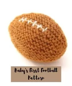 Baby's First Football Pattern