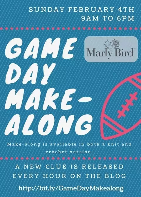 Game Day make-along with Marly Bird