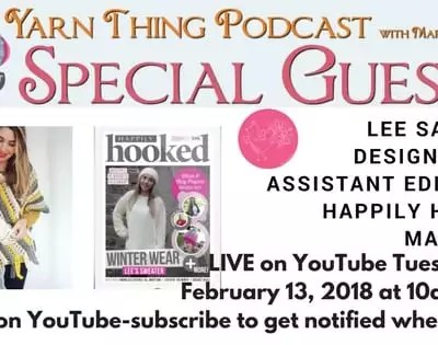 Happily Hooked Magazine joins me on the Yarn Thing Podcast this week