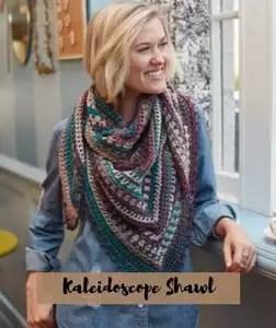 FREE Pattern Kaleidoscope Shawl