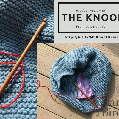 To Knit or Crochet, Why Choose with the Knook-Product Review and Giveaway