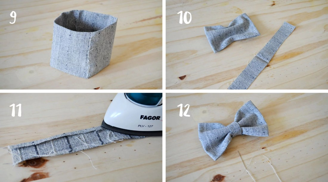 DIY noeud papillon 4 - DIY noeud papillon