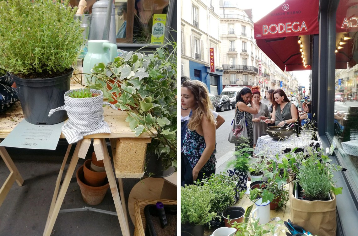 green party urban jamini marmille - Green party chez Jamini, <Br>l'art indien rencontre le chic Parisien et le green !
