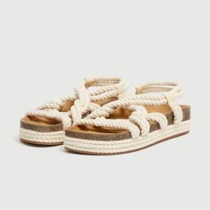sandale ete corde 300x300 - Ma sélection shopping estivale - dentelle, osier & coquillage