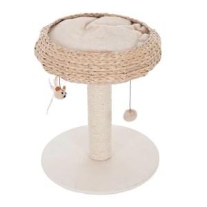 arbre chat panier naturel design 300x300 - Tikka et Papaye, mes essentiels et conseils avec deux chats en appartement