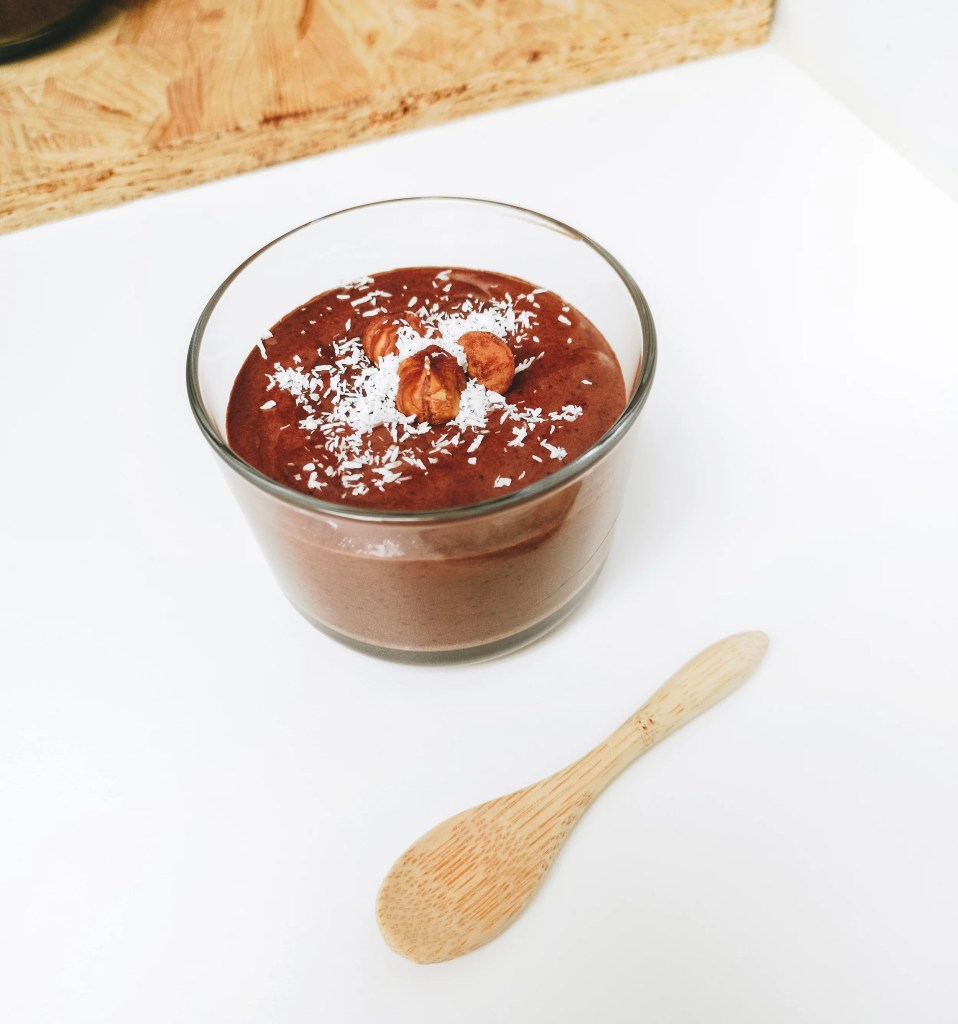 mousse chocolat vegan pois chiche marmille 958x1024 - Moments Slow #1