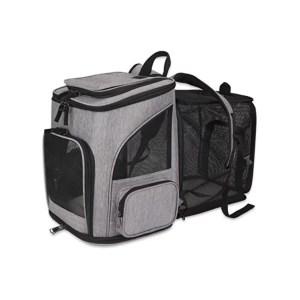 sac a dos transport chat pliable marmille 300x300 - Tikka et Papaye, mes essentiels et conseils avec deux chats en appartement