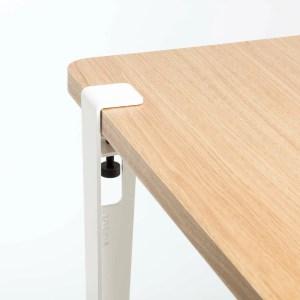 Pied de table 75 cm Blanc tip toe marmille 300x300 - Ma sélection shopping pour commencer l'année en douceur