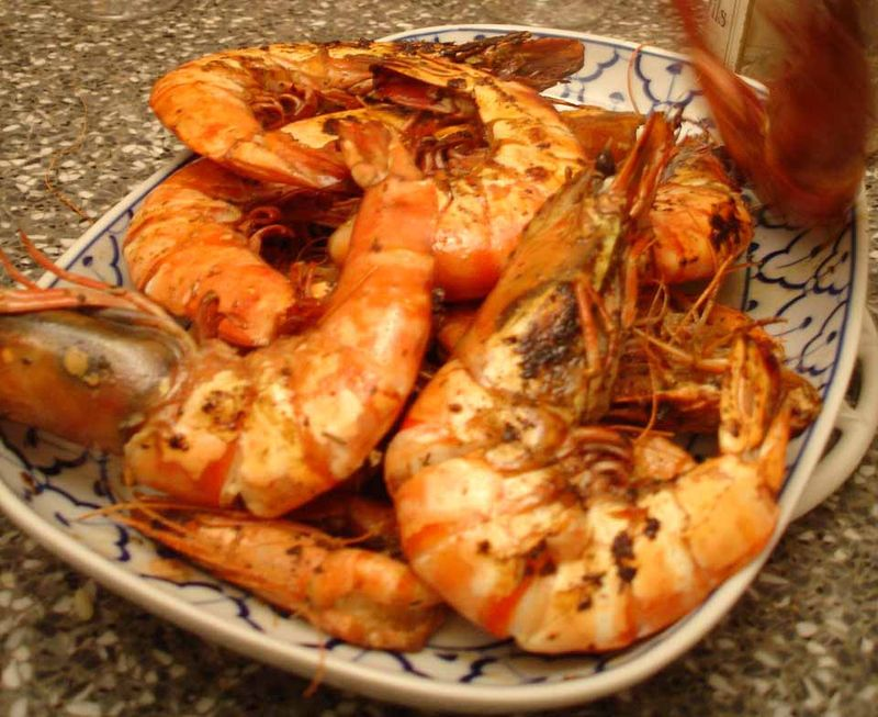 gambas flambees recette facile