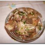 oreilles de porc grillees salada orelha de porco