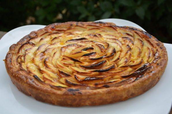 tarte aux pommes a la vanille