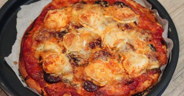 pizza chorizo inratable