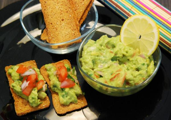 guacamole traditionnel rapide