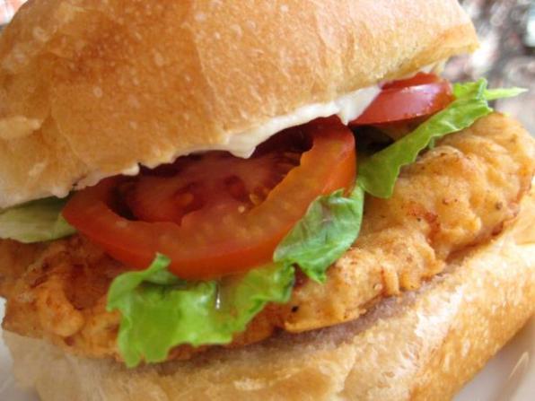 hamburger au poulet recette facile