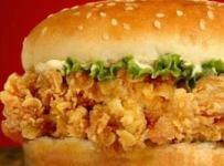 hamburger au poulet recette