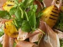 salade de cresson au jambon fume