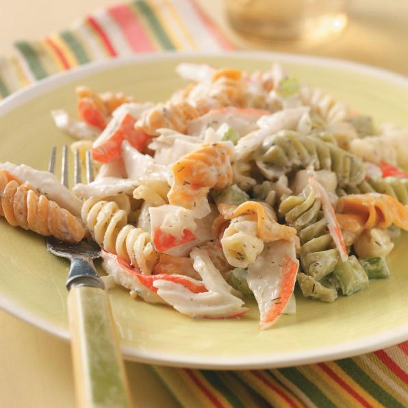 salade de pates au surimi