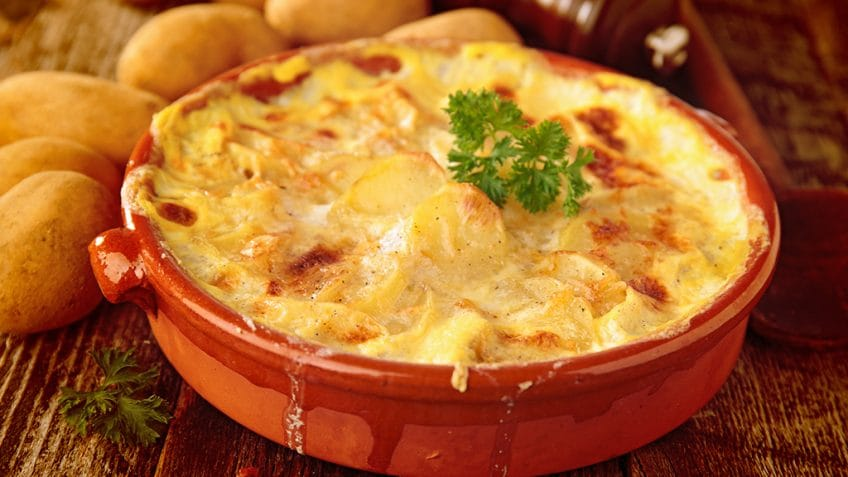 gratin au butternut et patates douces