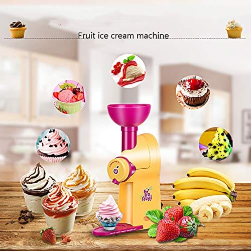 machine à glace avec fruits