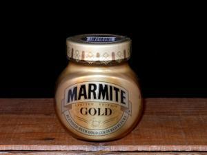 Special Edition Marmite Gold Jar, 250ml (Close-up)