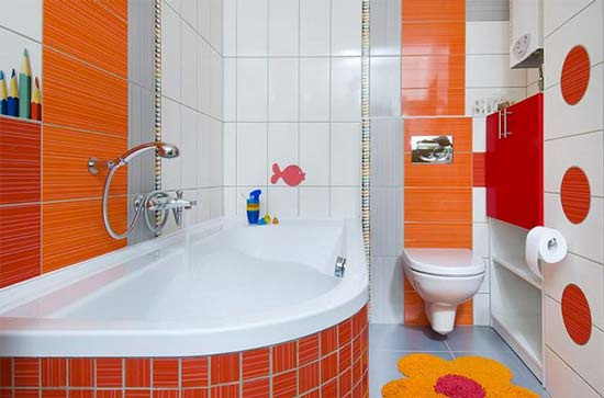Kid-Friendly Bathroom Design Tips on Fun Bathroom Ideas  id=34051