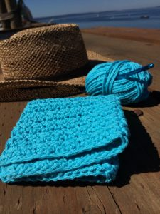 Summer crochet in the sun