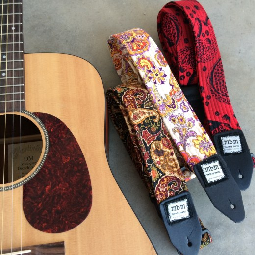 Guitar Straps made by marni