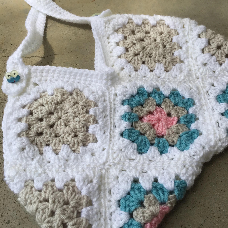My happy bag–crocheted purse pattern