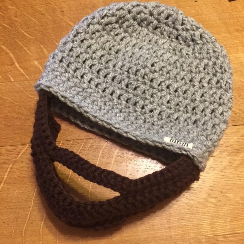 Adult Beard Hat Crochet