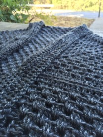 up close and personal with Lion Brand Heartland yarn
