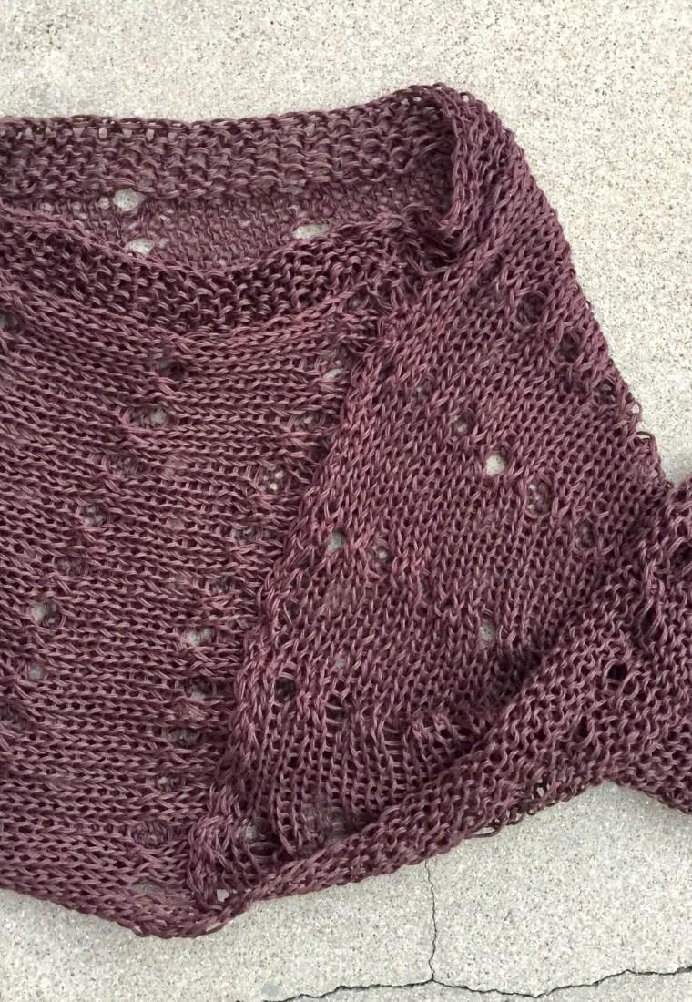 Petra Breakstone's Aveline Poncho Knitting Pattern
