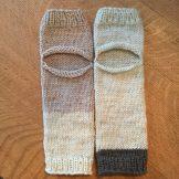 Knitted Yoga Socks mbm