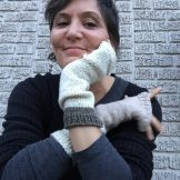 Yoga socks AND fingerless gloves! mbm