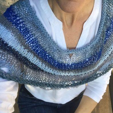 IMAGINE COWL Free Knitting Pattern