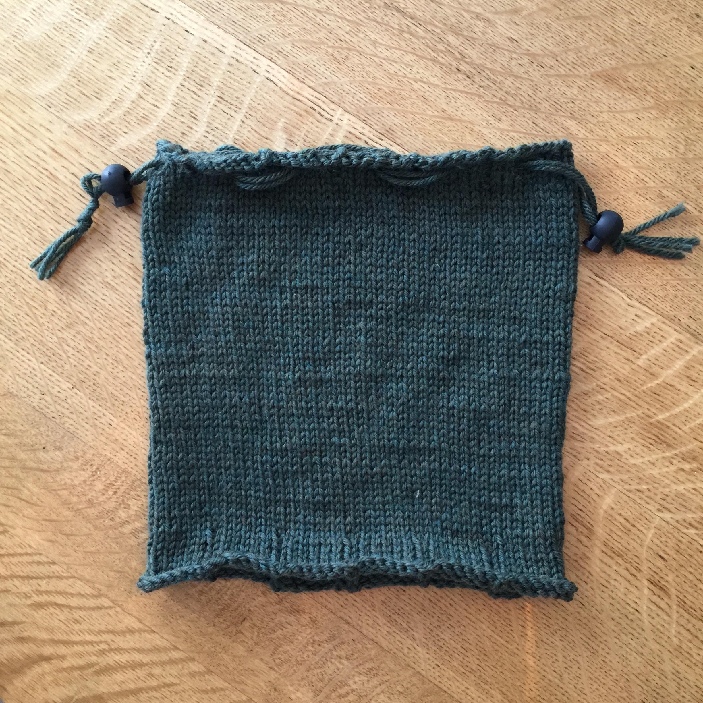 Hat Cowl #2 Free Knitting Pattern
