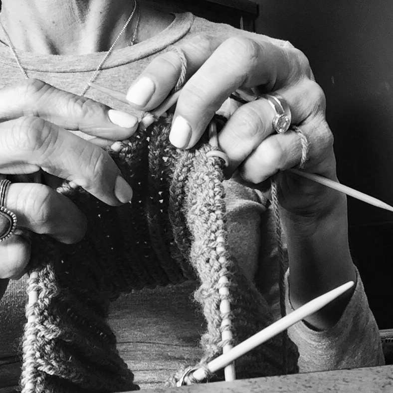 How I fell in love with knitting.